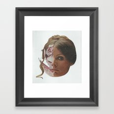 If Looks Could Kill Framed Art Print