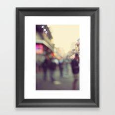 Bourbon Bokah Framed Art Print