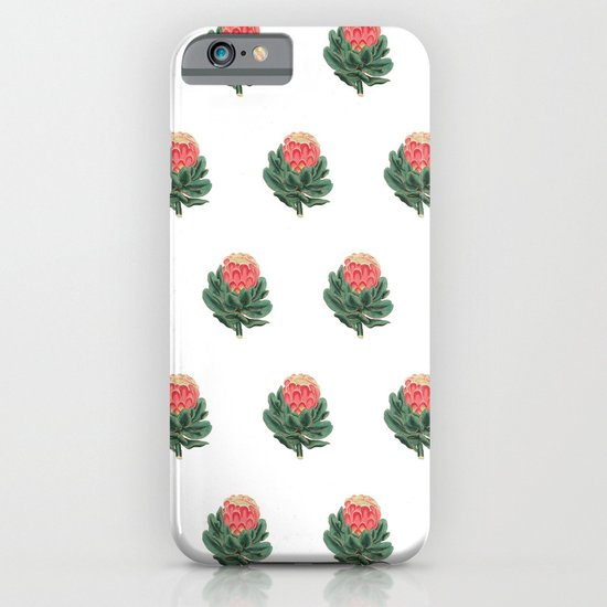 Vintage Botanical Protea Pattern iPhone & iPod Case