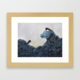 Kamikaze Framed Art Print