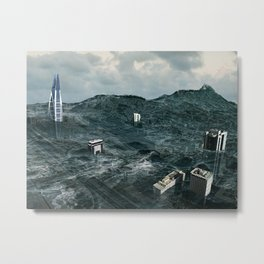 Survival of the tallest Metal Print