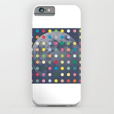 Blue Moon With Multi-Coloured Dots Slim Case iPhone 6s