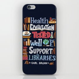 Libraries iPhone Skin