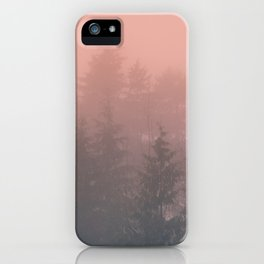 Pink Forest iPhone Case
