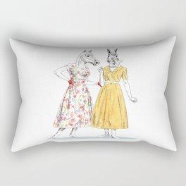 Bestial ladies Rectangular Pillow