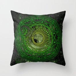Magic Circle - Yukito Tsukishiro Throw Pillow