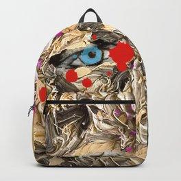 Blood Gold Girl Backpack