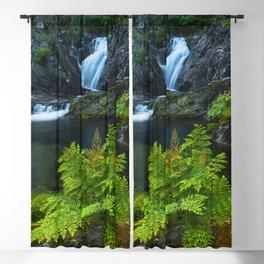 The magic waterfall Blackout Curtain