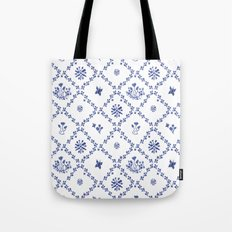 Clue in the Garden Patches Tote Bag