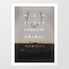 Poster True Detective Art Print