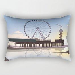 Scheveningen Beach Rectangular Pillow