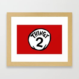 Thingy2 Framed Art Print
