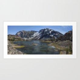 Ellery Lake Art Print