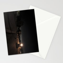 parking lot chilling Stationery Cards