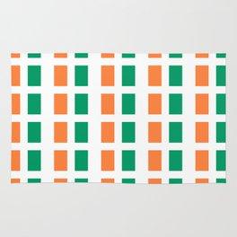 flag of ireland 2-ireland,eire,airlann,irish,gaelic,eriu,celtic,dublin,belfast,joyce,beckett Rug