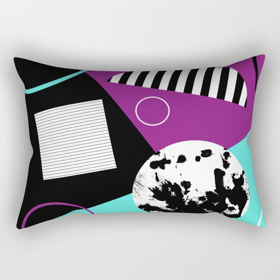 Bits And Bobs 2 - Abstract, geometric design Rectangular Pillow