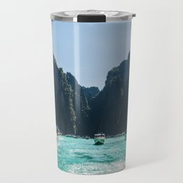 Thailand Boats Travel Mug