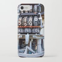 numbers iPhone & iPod Cases featuring Numbers by Kent Moody