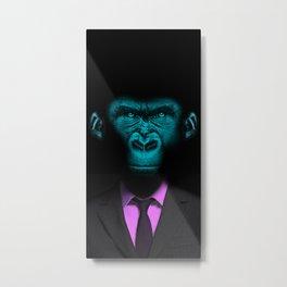 Monkey Suit Metal Print