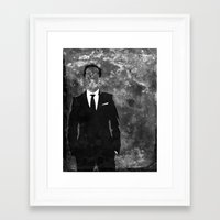 moriarty Framed Art Prints featuring Moriarty by Amy K. Nichols
