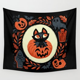 Happy Halloween Wall Tapestry