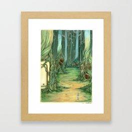 What Trees Do Framed Art Print