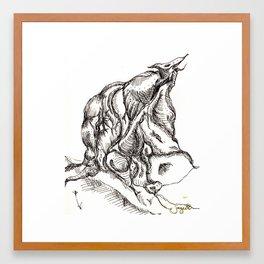 Botanical Abstract #4 Framed Art Print