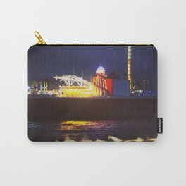 vintage seaside pier Carry-All Pouch
