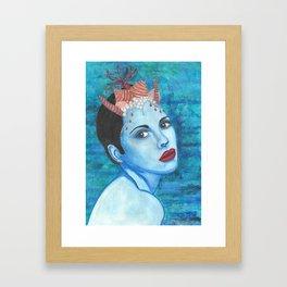 Mermaids - Claire Framed Art Print
