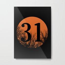 Halloween 31 Metal Print