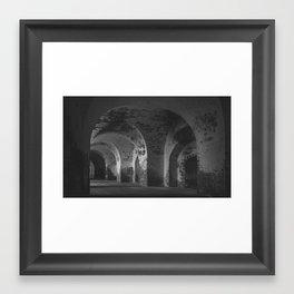 Ft. Pulaski Framed Art Print