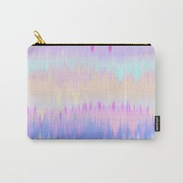 Pastel Rainbow Tie Dye Print Carry-All Pouch