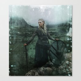 Shieldmaiden Canvas Print