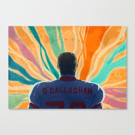 O'Callaghan Comes Out Canvas Print