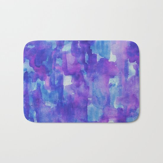 Blue & Purple Bath Mat