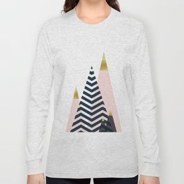 Minimalist landscape XIX Long Sleeve T-shirt