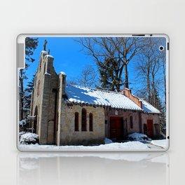 Portiuncula Chapel in Winter II Laptop & iPad Skin