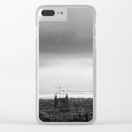 Barcelona Clear iPhone Case