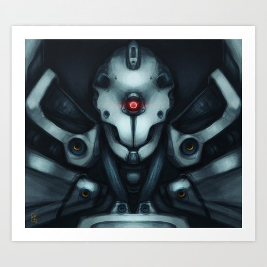 Mobile Suit - Stray Art Print