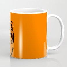 Minimalistic Tiger Face Mug