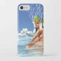 island iPhone & iPod Cases featuring ISLAND by Brian Foott