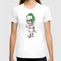 nurse T-shirts featuring Clown Nurse by Ludwig Van Bacon