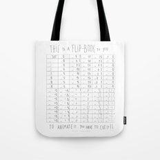 Hug and Share Flip-Book Tote Bag