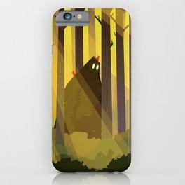 Sasquatch iPhone Case