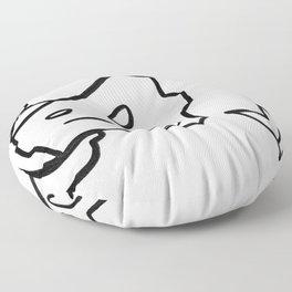 c-clamp champ Floor Pillow