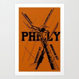 Philly Utility Art Print