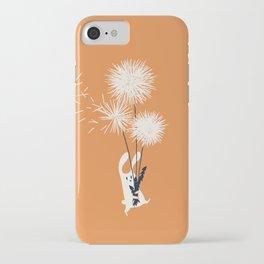 Bunny and Dandelion Bouquet iPhone Case