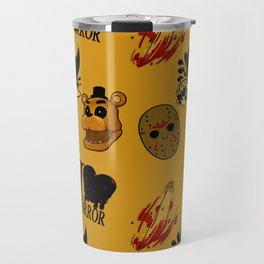 I <3 HORROR Travel Mug