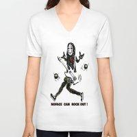 ghibli V-neck T-shirts featuring Studio Ghibli - Spirited away by Kayla Phan