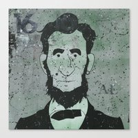 lincoln Canvas Prints featuring Lincoln by Doren Chapman